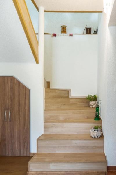 Villa Samodiva Interior Stairway