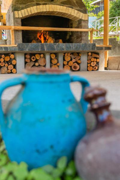 Villa_Samodiva_Fireplace